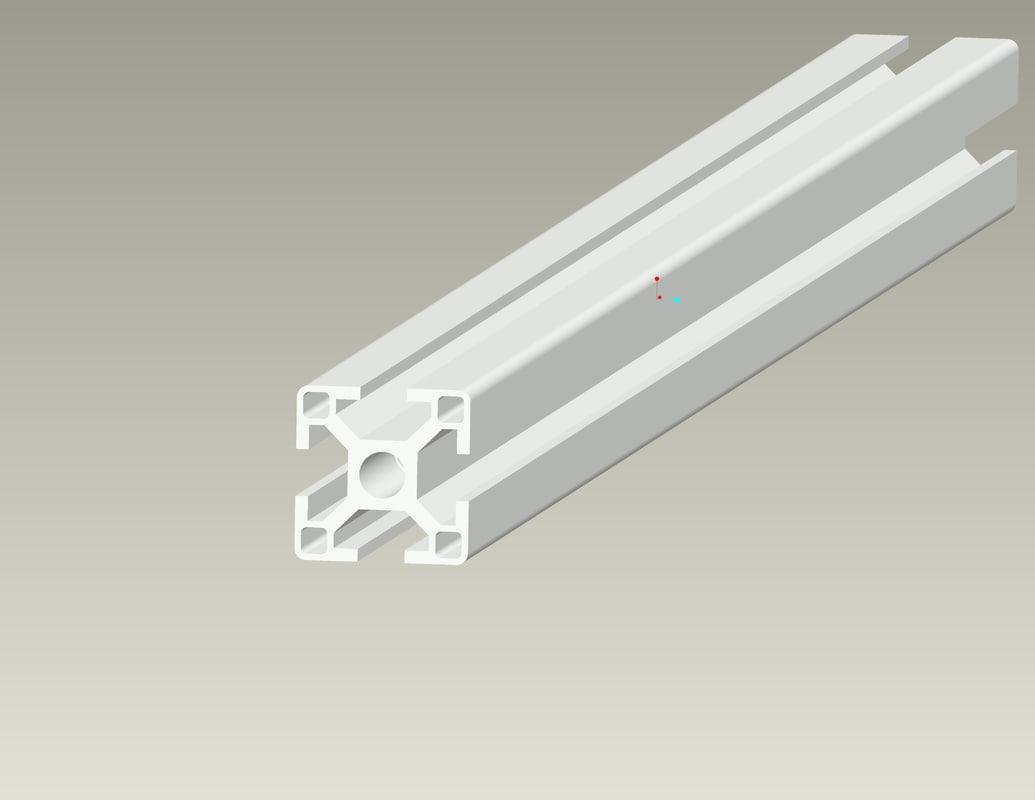 3d model profile rexroth