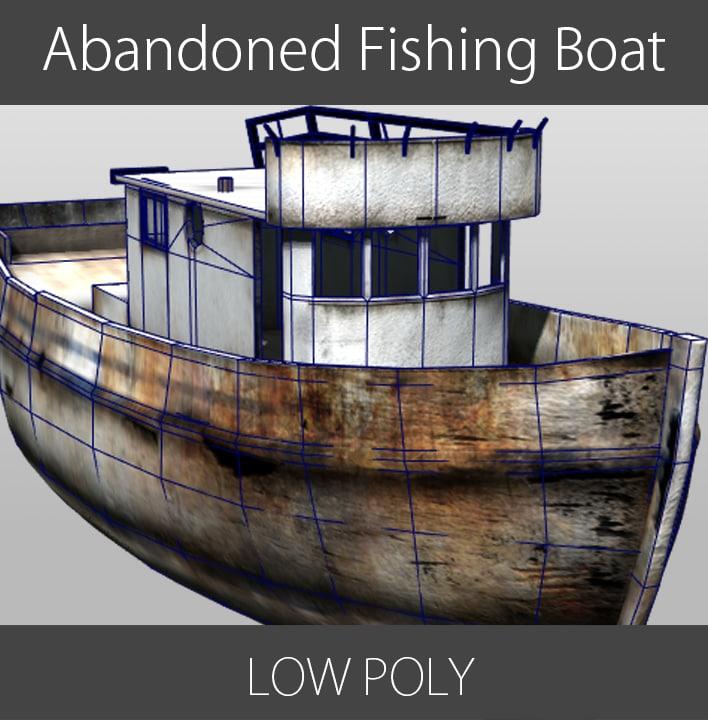 boat fishing abandoned ma
