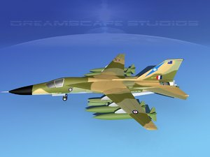 bomber fb-111 3d model