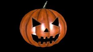 3d 3ds halloween pumpkin