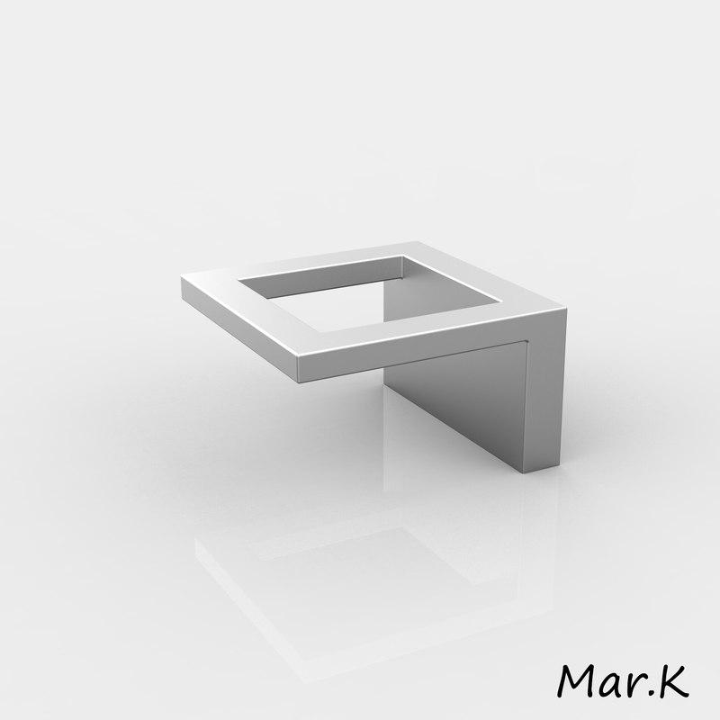 3d model handle siro 14155