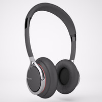 3d model of modeled sony headphones