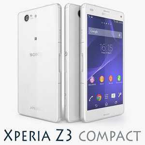 3d model of sony xperia z3 compact