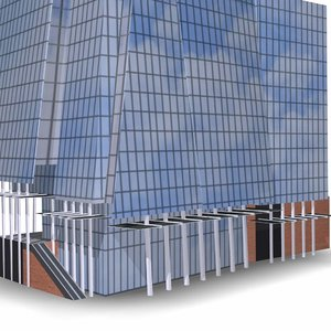 3d max shard building