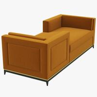 raconteur sofa 3d model