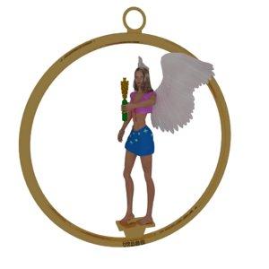 3d model zodiac sign virgo modeler