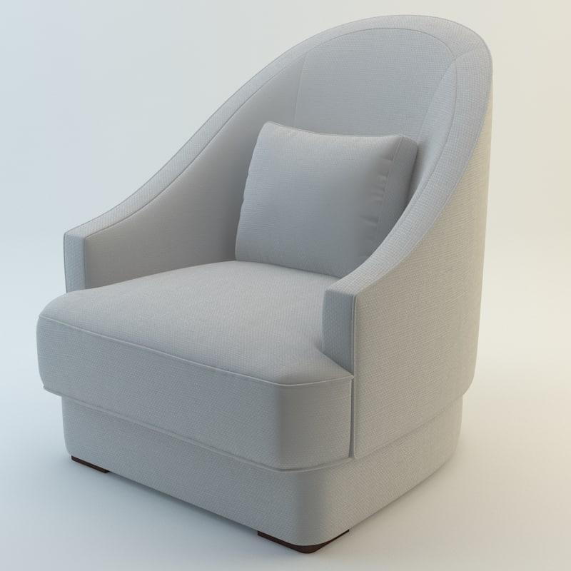 baker jacqueline chair max