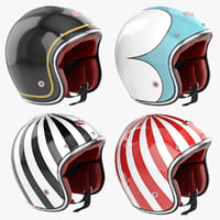 Motorcycles Helmet Ruby