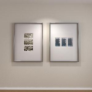 obj framed art