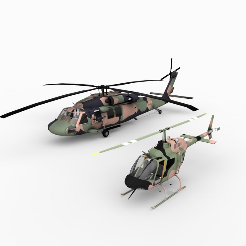 3d australian helicopters