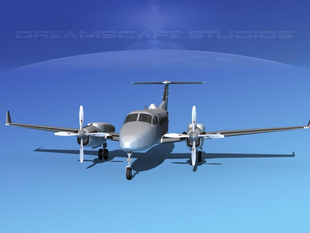 propellers surveillance reconnaissance 3d model