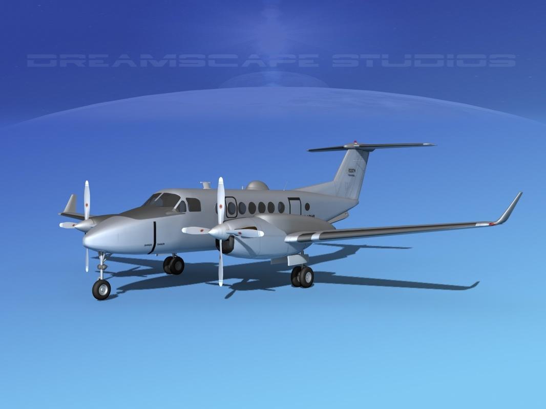 propellers surveillance isr 3d model