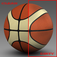 basket ball 3d c4d