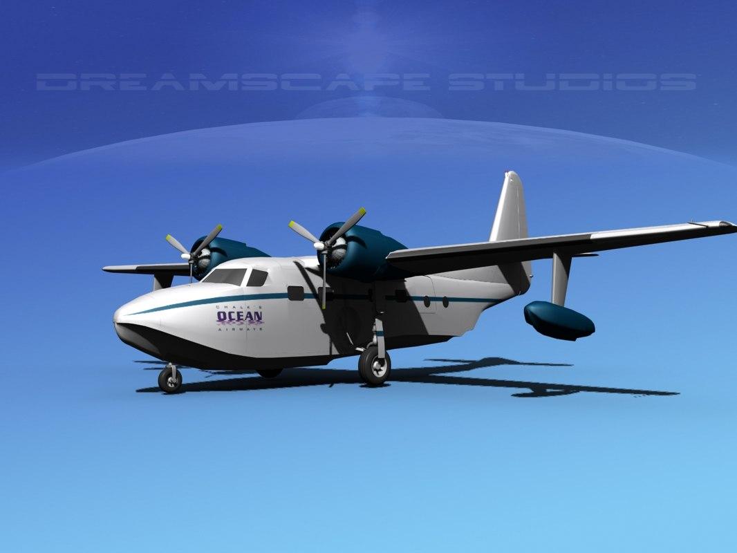 Grumman G-73 Mallard Ocean Intl