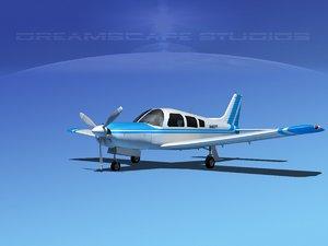 3d propeller piper cherokee model