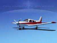 3d model propeller piper cherokee