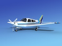propeller piper cherokee 3d 3ds