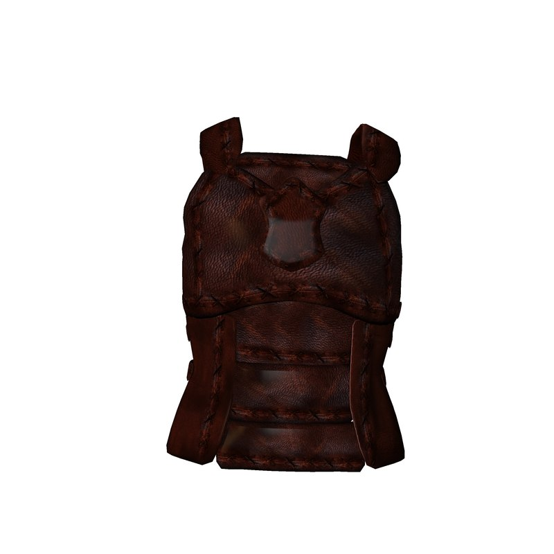 armor medieval obj