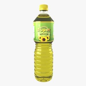 3ds max sunflower oil
