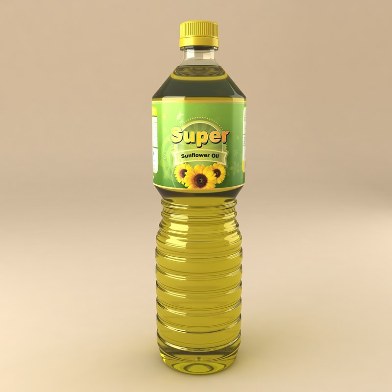 3ds max sunflower oil