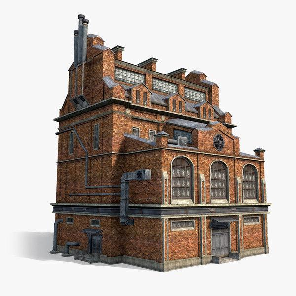 3d max brick factory