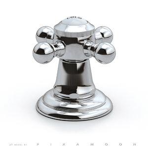 3d model dornbracht madison flair valve