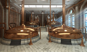 3ds max brewery