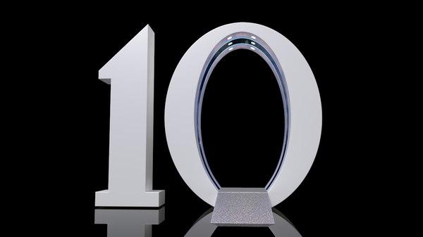 10 ten obj