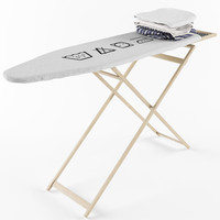ironing table 3d obj