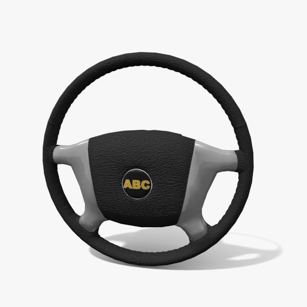 3d model generic steering