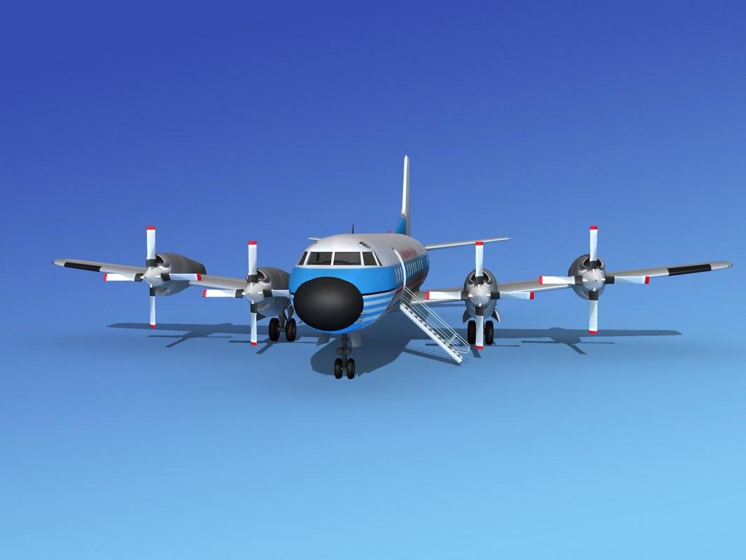 Lockheed L188 Electra HP Lockheed Aircraft