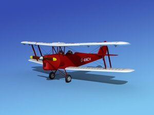 tiger moth dehavilland lwo
