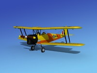 3ds tiger moth dehavilland