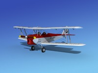 tiger moth dehavilland 3d 3ds