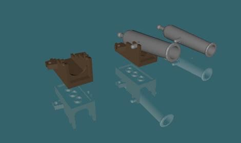 3ds lego cannon