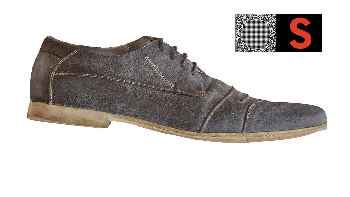 boots scan 3d model