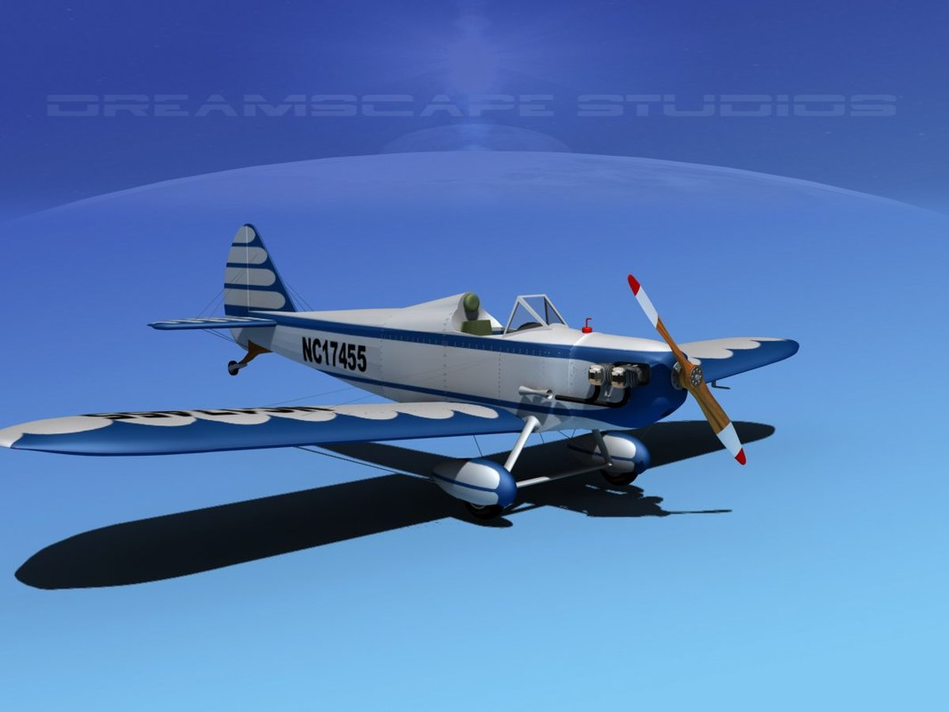 propeller bowers fly baby 3d max