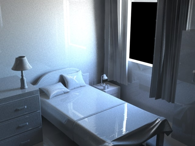 max simple bedroom bed