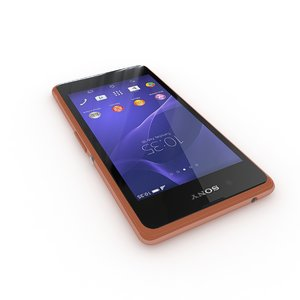 3d sony xperia e3 copper