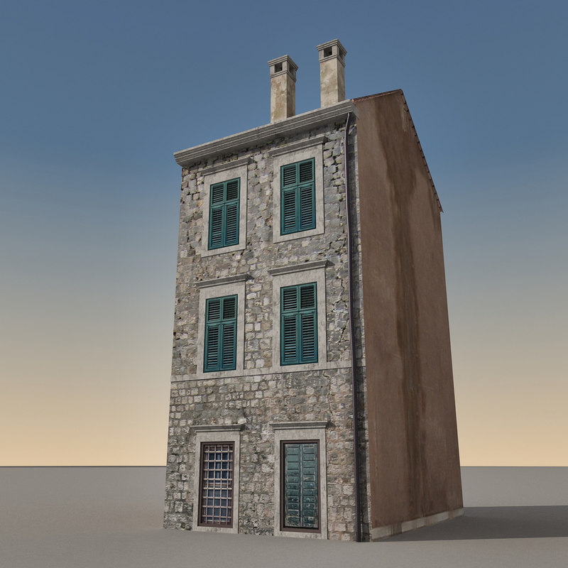 building italian 3d max