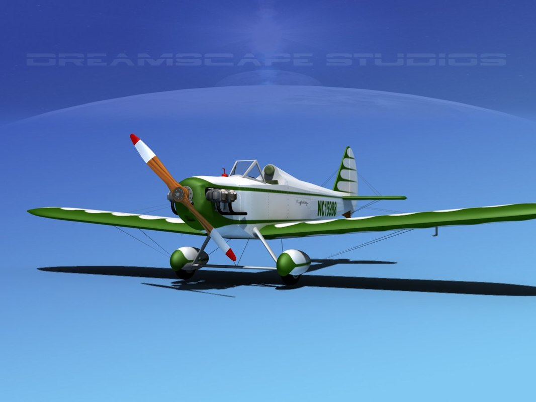 propeller bowers fly baby 3d model