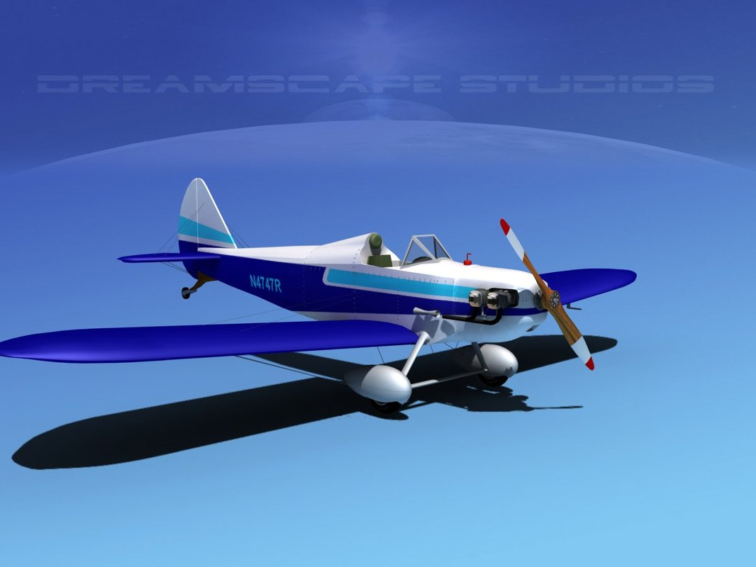 propeller bowers fly baby 3d obj