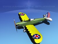 3d propeller bowers fly baby model