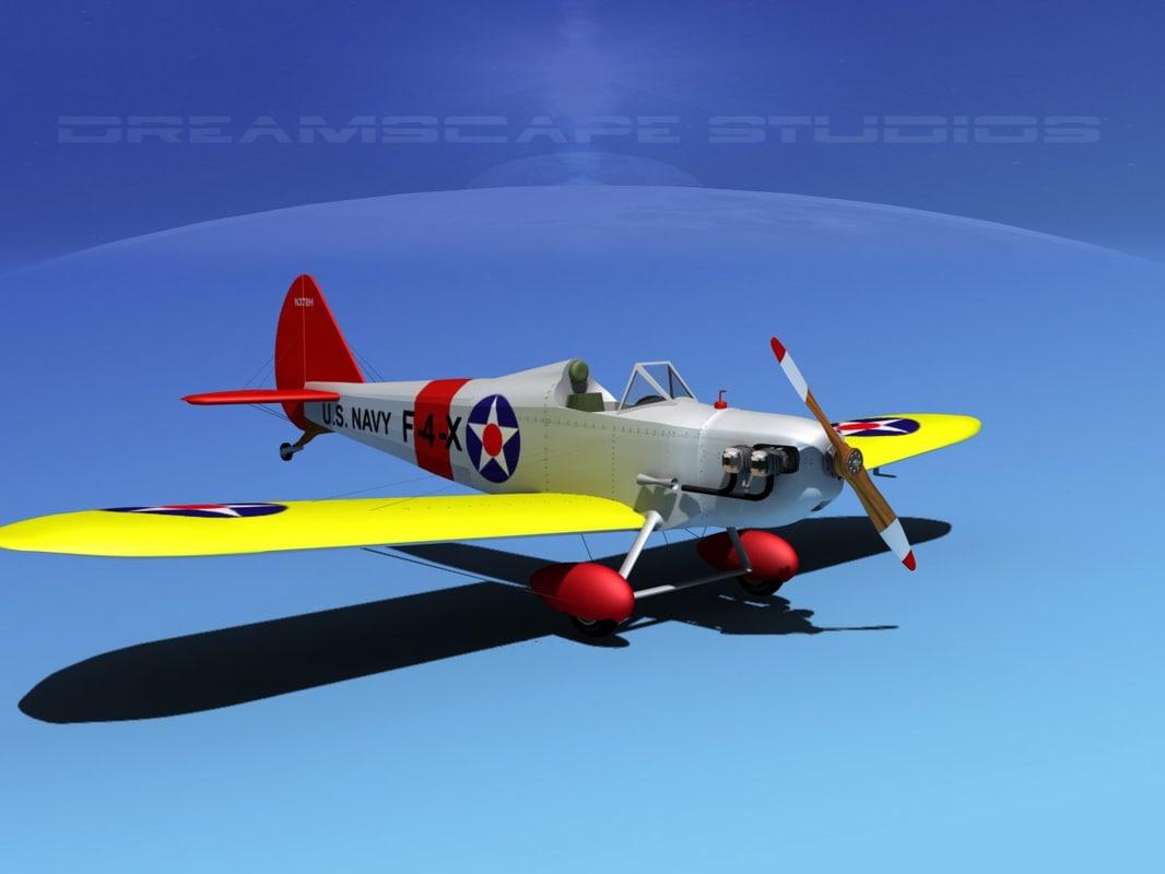 3d model propeller bowers fly baby
