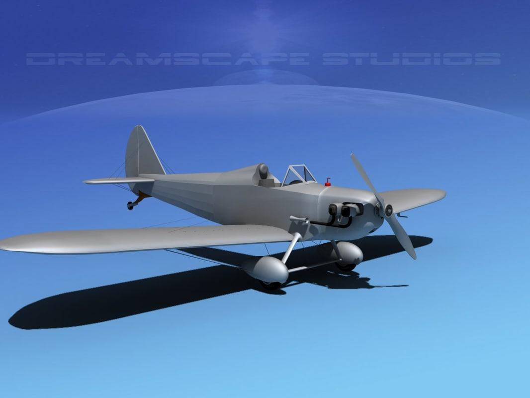 propeller bowers fly baby 3d obj