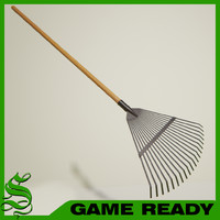 Low Poly Leaf Rake