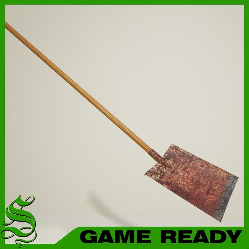 max flat shovel