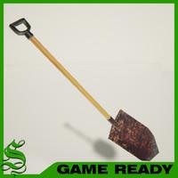 short spade shovel max