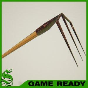 weed rake 3d max