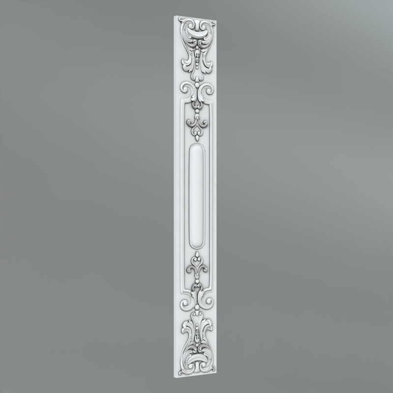 classical decoration ornamental 3d fbx